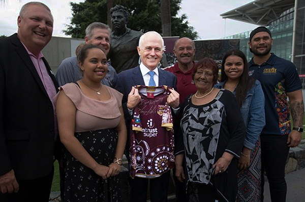 PM backs Billy Slater for Player of the Series, cops both barrels from Mark Levy