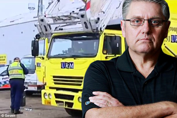 Article image for 'I react poorly to threats': Trucking executive makes big, big mistake