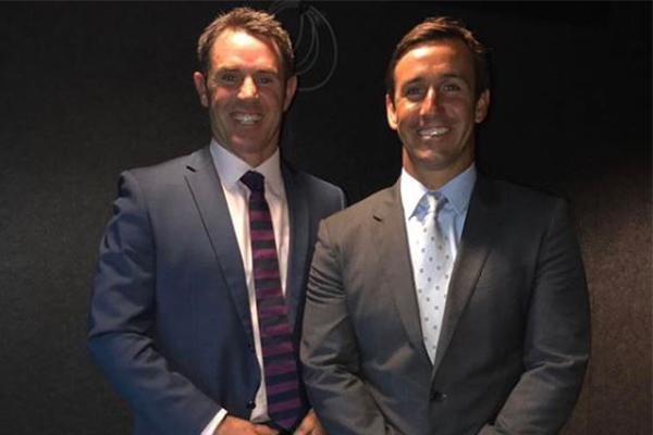 'I thanked him for retiring': Andrew Johns' cheeky sledge at Cameron Smith ahead of Origin clash