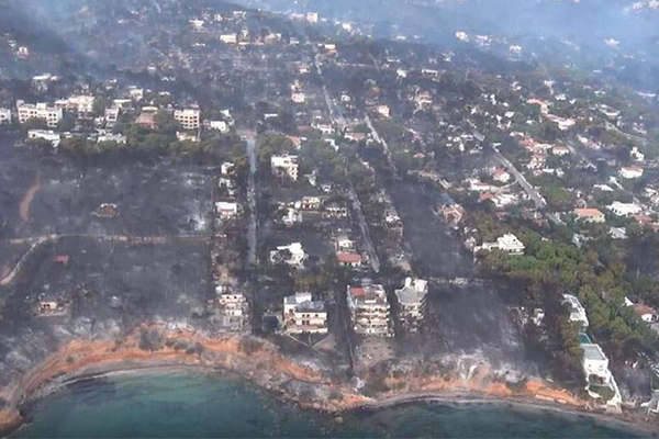 Article image for 74 dead and counting in Greece wildfires