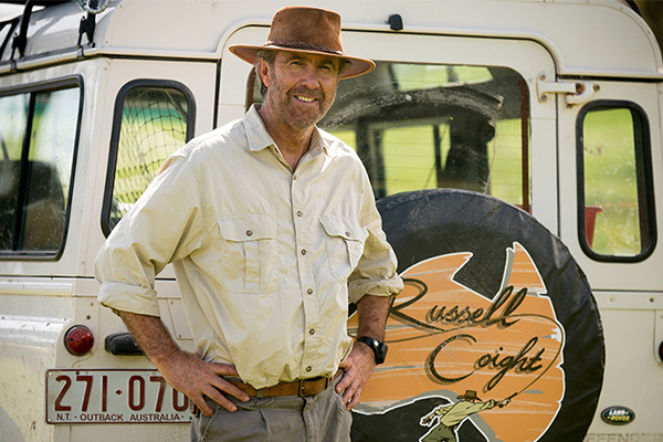 Russell Coight is back and he's armed with a crocodile skin g-string