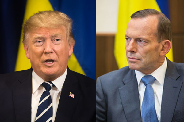Tony Abbott takes direct aim at President Trump's meeting with 'ruthless dictator'
