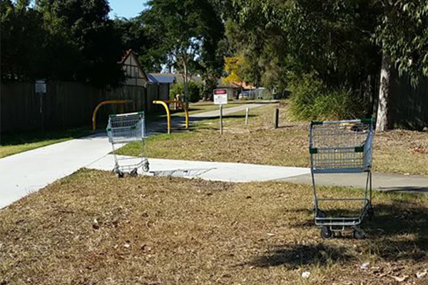 Local council declares war on abandoned shopping trolleys