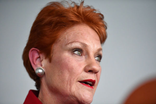 Article image for Pauline Hanson: Liberal leadership change will determine 'how many seats are saved' at next election