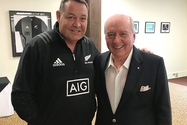 Article image for All Blacks coach says 'good rugby' is key to success, ahead of second Bledisloe test