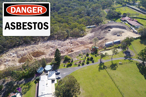 Article image for EXCLUSIVE   Charges laid over Arcadia asbestos dump