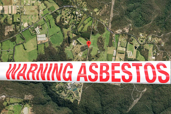 Article image for Police investigating illegal dumping of 17,000 tonnes of asbestos
