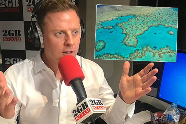 Ben Fordham takes Environment Minister to task over mysterious $444-million reef grant