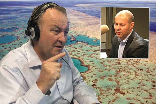 Article image for 'You're lying Josh!': Chris Smith calls out Frydenberg over 'insane' reef grant
