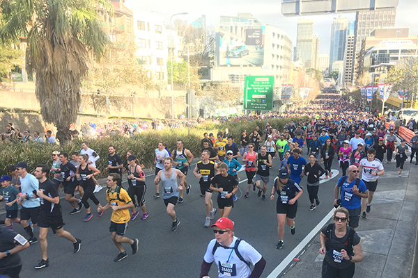 Macquarie Radio takes on the 2018 City2Surf