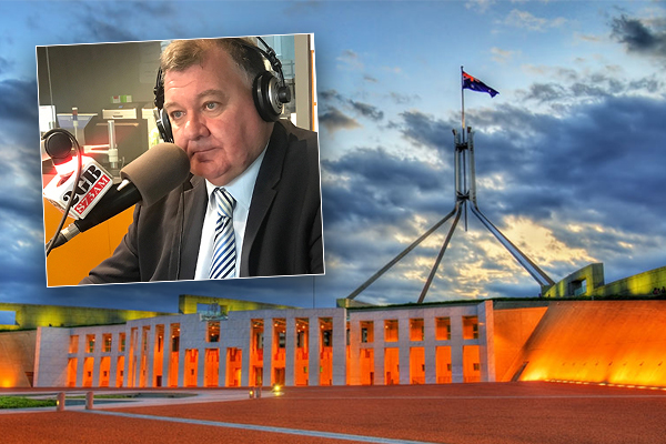 Article image for EXCLUSIVE | Liberal MP Craig Kelly confirms he voted for Peter Dutton in leadership spill