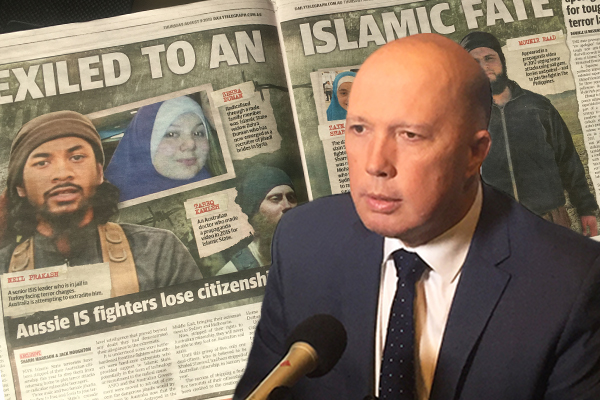 Article image for 'I don't want these people coming back': Foreign fighters stripped of Australian citizenship
