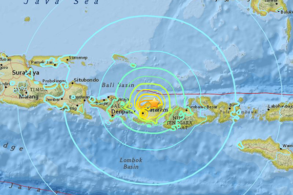 Article image for Second earthquake hits Indonesian island, death toll rises to 227