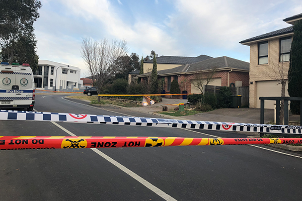 Article image for Investigation underway after explosion at a suspected drug lab in Sydney