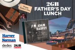 2GB Father's Day Lunch