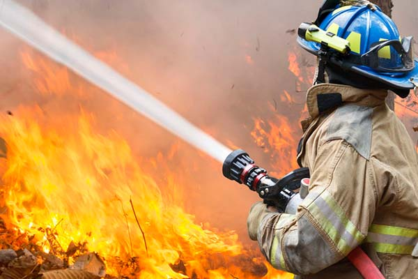 Article image for 'They just fought religiously': Firefighters still battling blazes across the state