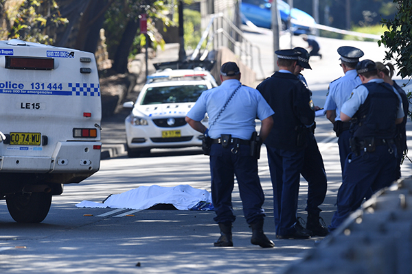 Man and woman charged over Sydney Samurai sword murder