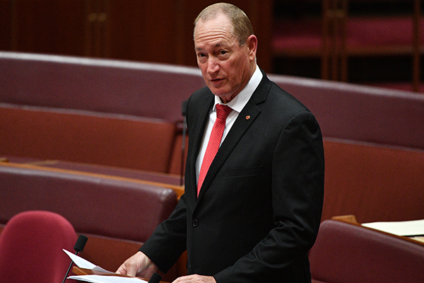 Article image for 'The safest thing for Australians is that we don't have any of them': Senator stands by anti-Muslim speech