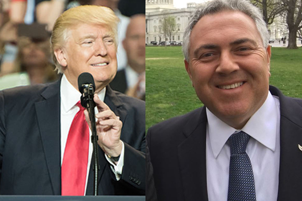 Article image for Joe Hockey on President Trump: 'When did you last have a president like that?'