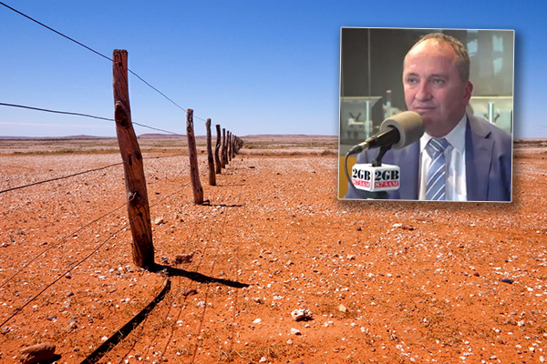 Drought relief: Barnaby pushing for centralised charities