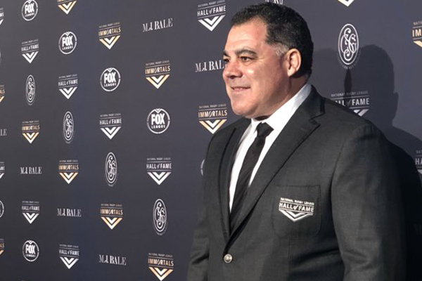 Article image for Immortal status sinking in for Mal Meninga: 'It's bigger than me'