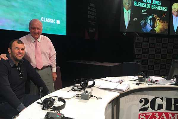 WATCH | The Alan Jones Bledisloe Cup Breakfast