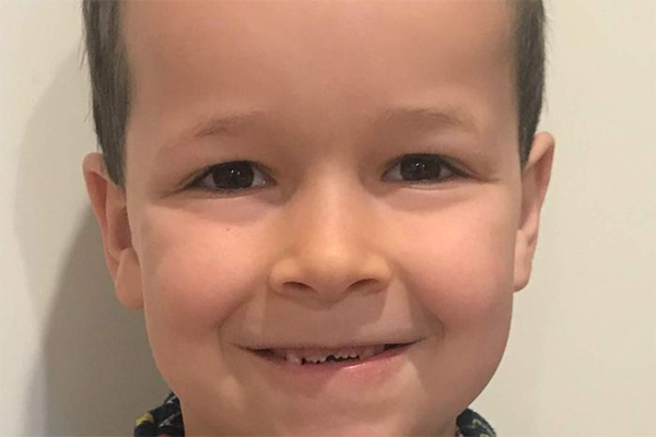 Have you seen this missing six-year-old boy?