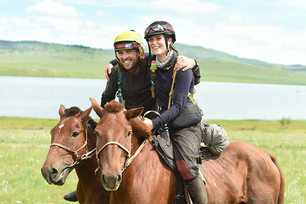 Article image for Australian wins the longest and toughest horse race in the world