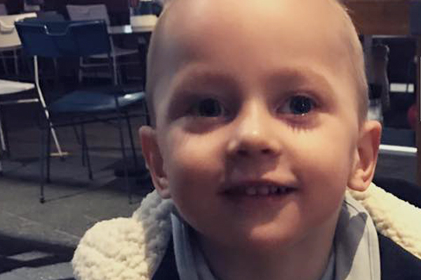 Four-year-old Ryan needs your help to walk again