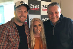 Award-winning country musicians perform live in studio