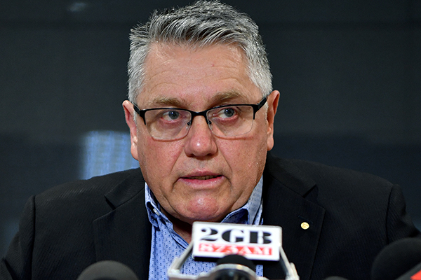 Article image for Ray Hadley addresses son's court case and battle with PTSD