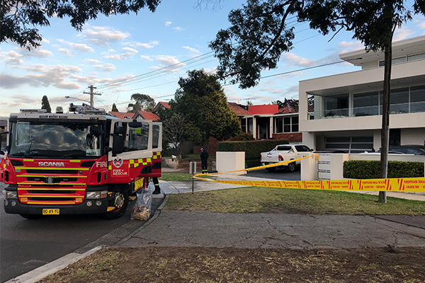 Article image for Man dies in house fire in Sydney's inner west