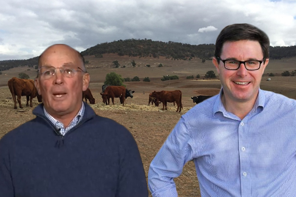 Desperate farmer confronts Agriculture Minister, pleading for help
