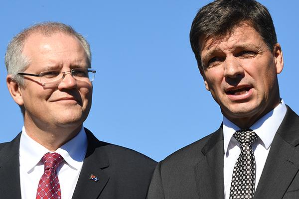 Article image for New energy minister 'bullseye' for Morrison's ministry