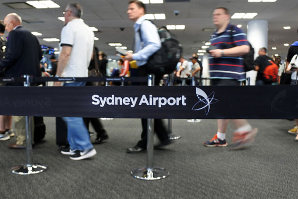 Article image for Public urged not to panic during emergency simulation at Sydney Airport