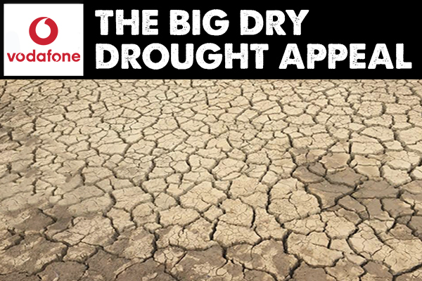 Vodafone joins The Big Dry drought appeal with significant donation