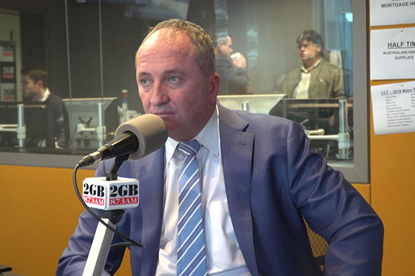 Barnaby Joyce reveals why he kept his separation a secret