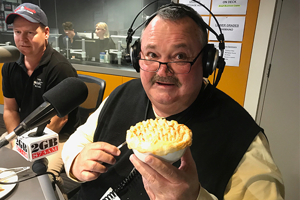 The Big Marn taste tests an unusual kind of pie