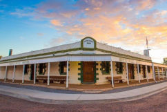Iconic outback pub hits the market