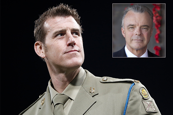 Article image for 'War is a messy business': Brendan Nelson backs under fire war hero