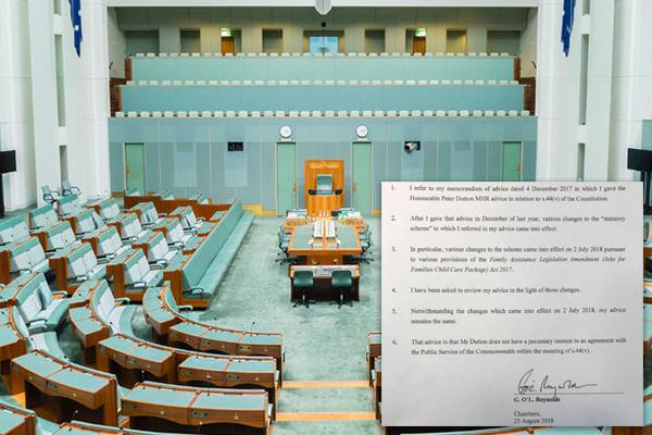 Peter Dutton's eligibility explained