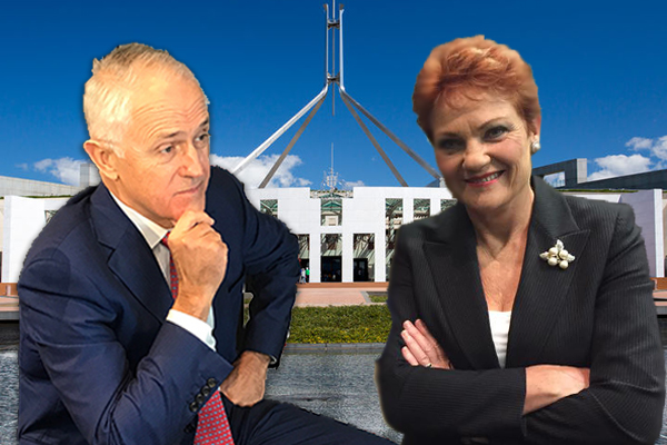 Article image for Move over Malcolm: Pauline Hanson says Tony Abbott deserves the top job