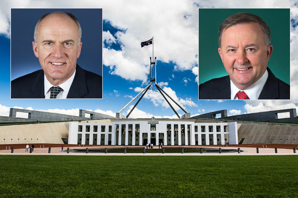 Article image for Libspill: Canberra heavyweights react to leadership chaos