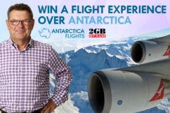 Win the world's most unique day trip to Antarctica!