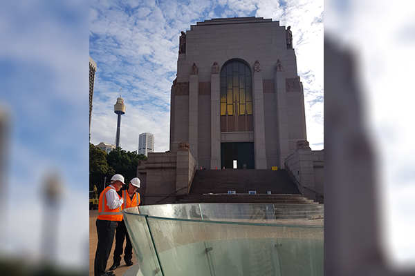 Article image for Remembering our fallen: An 80 year vision finally realised