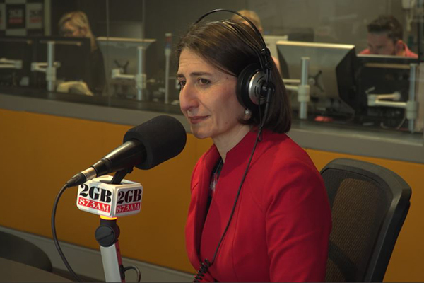 Premier Berejiklian in studio after abortion bill becomes law