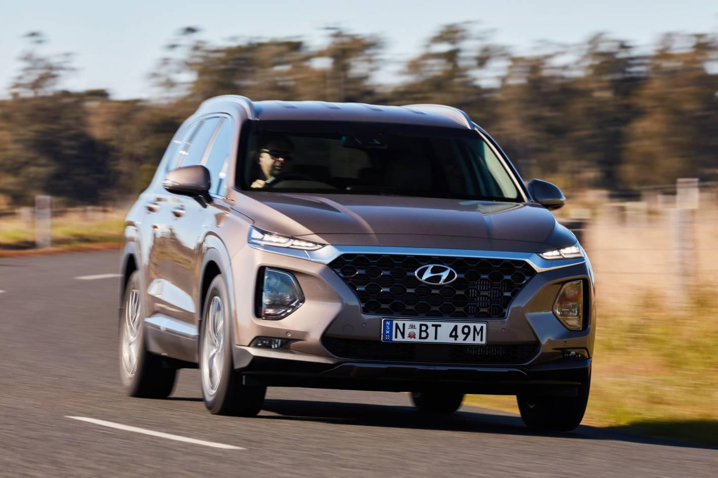 Hyundai's new Santa Fe SUV - 2