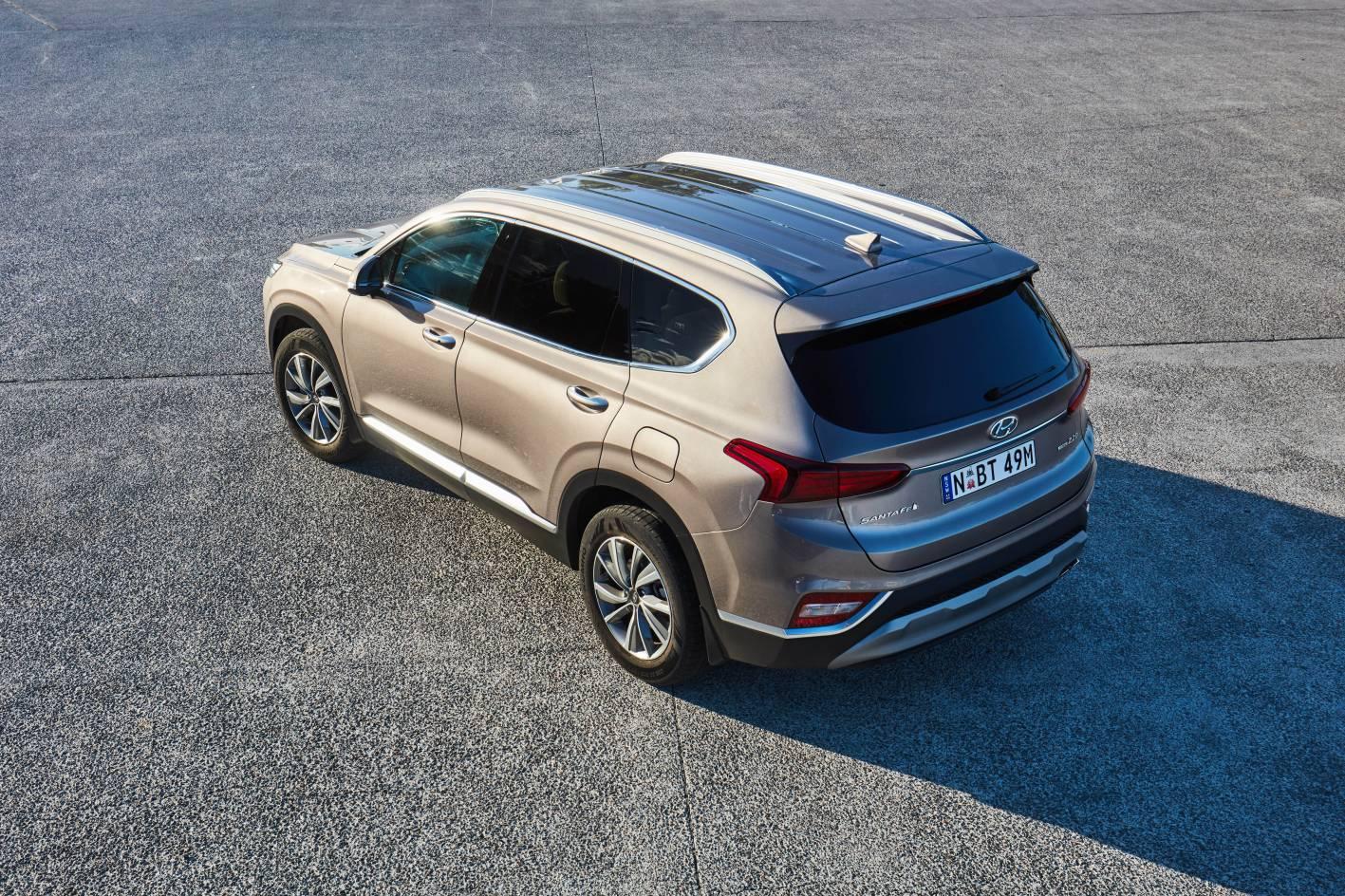 Hyundai's new Santa Fe SUV - 3