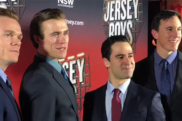 Sydney's Jersey Boys premiere features a star-studded audience