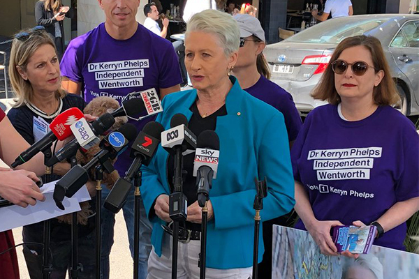 'Not at all inconsistent': Kerryn Phelps defends medicare comments